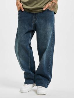 Dangerous DNGRS Homie Baggy Jeans Dark Blue