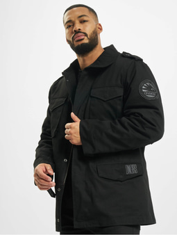 Dangerous DNGRS Peter Two in One Winter Jacket Black