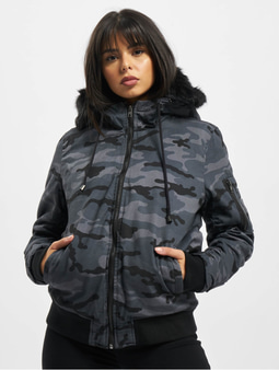 DEF Bomber Anthracite Camouflage