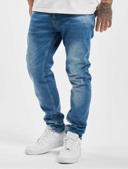 DEF Hines Slim Fit Jeans Mid Blue