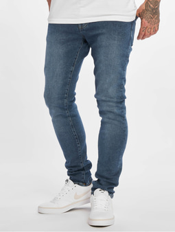 DEF Phil Slim Fit Jeans Mid Blue