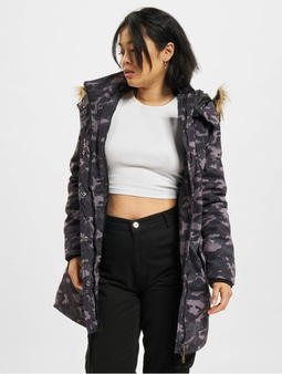 DEF Pinka Jacket Grey Camouflage