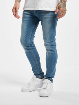 DEF Rislev Slim Fit Jeans Mid Blue Wash