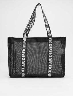 DEF Shopper Bag Black1