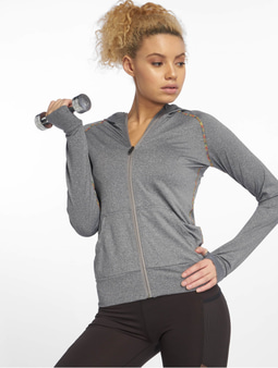 DEF Sports Allutic Zip Hoody Grey