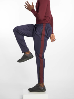 DEF Sports Rogerg Sweatpants Navy Burgundy