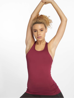 DEF Sports Talvi Tank Top Burgundy