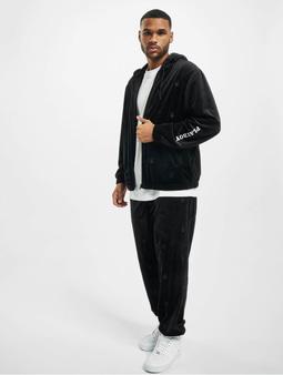 DEF x PLAYBOY AOP Velvet Suit Black
