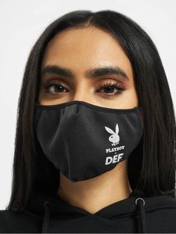 DEF x PLAYBOY Face Mask Black