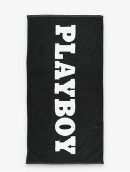 DEF x PLAYBOY Towel Black