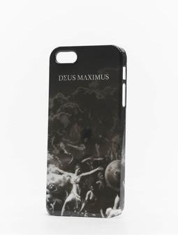 Deus Maximus Elysium iPhone Case Black