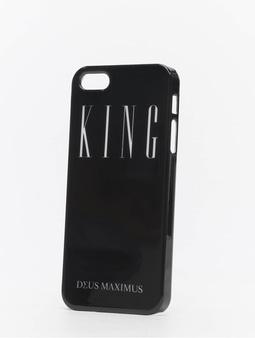 Deus Maximus King iPhone Case Black