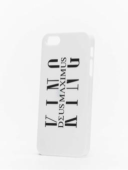 Deus Maximus Maximus iPhone Case White