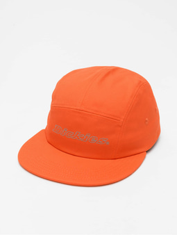 Dickies Mcrae Reflective Snapback Cap Bright Orange