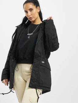 Dickies Olla Fishtail Coat Black
