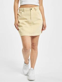 Dickies Shongaloo Cord Skirt Light Taupe