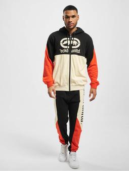 Ecko Unltd. Sweatsuit Black/Red/Off White