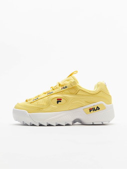 Fila Heritage D-Formation Sneakers Black/White/Fila Red