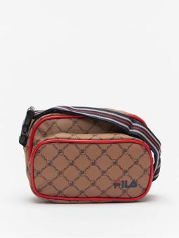 Fila New Twist Shoulder Bag Allover Thrush/Coffee Bean