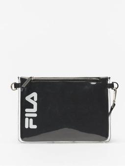 Fila Transparent Cross Body Bag Black