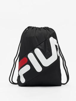 FILA Urban Line Mesh Double Gymsack Black