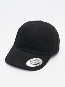 Flexfit Ecowash Dad Snapback Cap Black