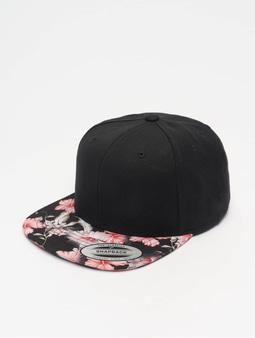 Flexfit Floral Snapback Cap Red