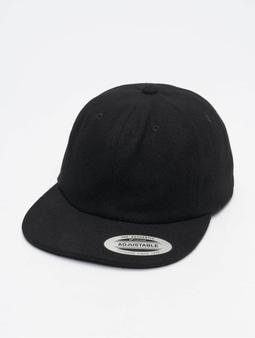 Flexfit Melton Snapback Cap Black