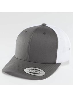 Flexfit Retro 2 Tone Trucker Cap Buck/White