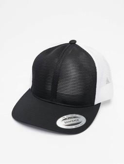 Flexfit YP Classics 360 Omni Mesh 2-Tone Flexfitted Cap Charcoal/White
