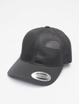 Flexfit YP Classics 360 Omnimesh Flexfitted Cap Black