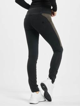 Freddy Medium Waist Skinny Jeans Black Denim