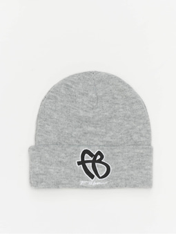 Fubu Basic Beanie Grey/Black/White