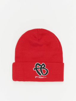 Fubu Basic Beanie Red/Black/White