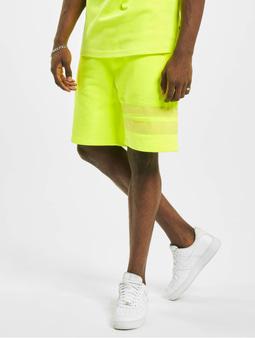 GCDS Shorts Yellow Fluo