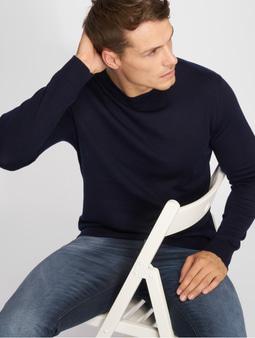 Jack & Jones jprMark Knit Sweatshirt Grey Melange