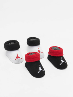Jordan Jumpman Color Blocked Bootie 2 Pack Socks Gym Red