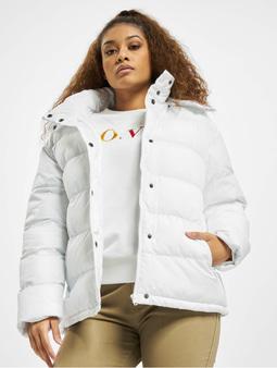 Karl Kani Hooded Puffer Jacket White