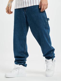 Karl Kani Kk Og Rinse Straight Fit Jeans Mid Blue