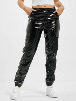 Karl Kani Kk Signature Glossy Cargo Pants Black