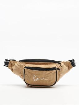 Karl Kani Signature Cord Tape Bag Camel/Black