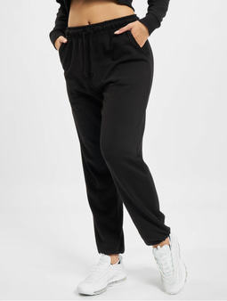 Missguided 90s Oversized Sweat Pants Black