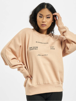 Missguided Oversize Sweatshirt White
