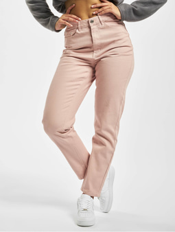 Missguided Riot Co Ord Mom Jeans Light Pink