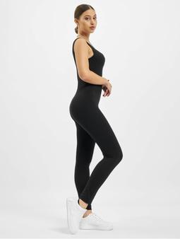 Missguided Scoop Neck Skinny Leg Unitard Jumpsuit Black
