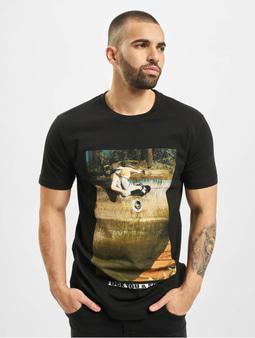 Mister Tee Fuck You & Skate T-Shirt Black