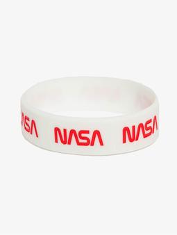Mister Tee NASA Bracelet White