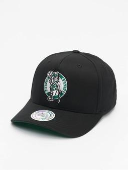 Mitchell & Ness NBA Boston Celtics Team Logo High Crown 6 Panel 110 Snapback Cap Black