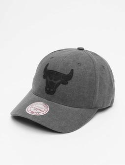 Mitchell & Ness NBA Erode Chicago Bulls Snapback Cap Black