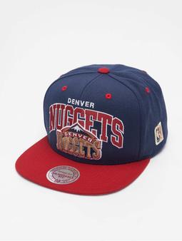 Mitchell & Ness NBA Team Arch 2 Tone Snapback Denver Nuggets/Burgandy Snapback Cap Navy/Burgandy